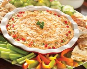 Super Buffalo Chicken Dip for Super Bowl